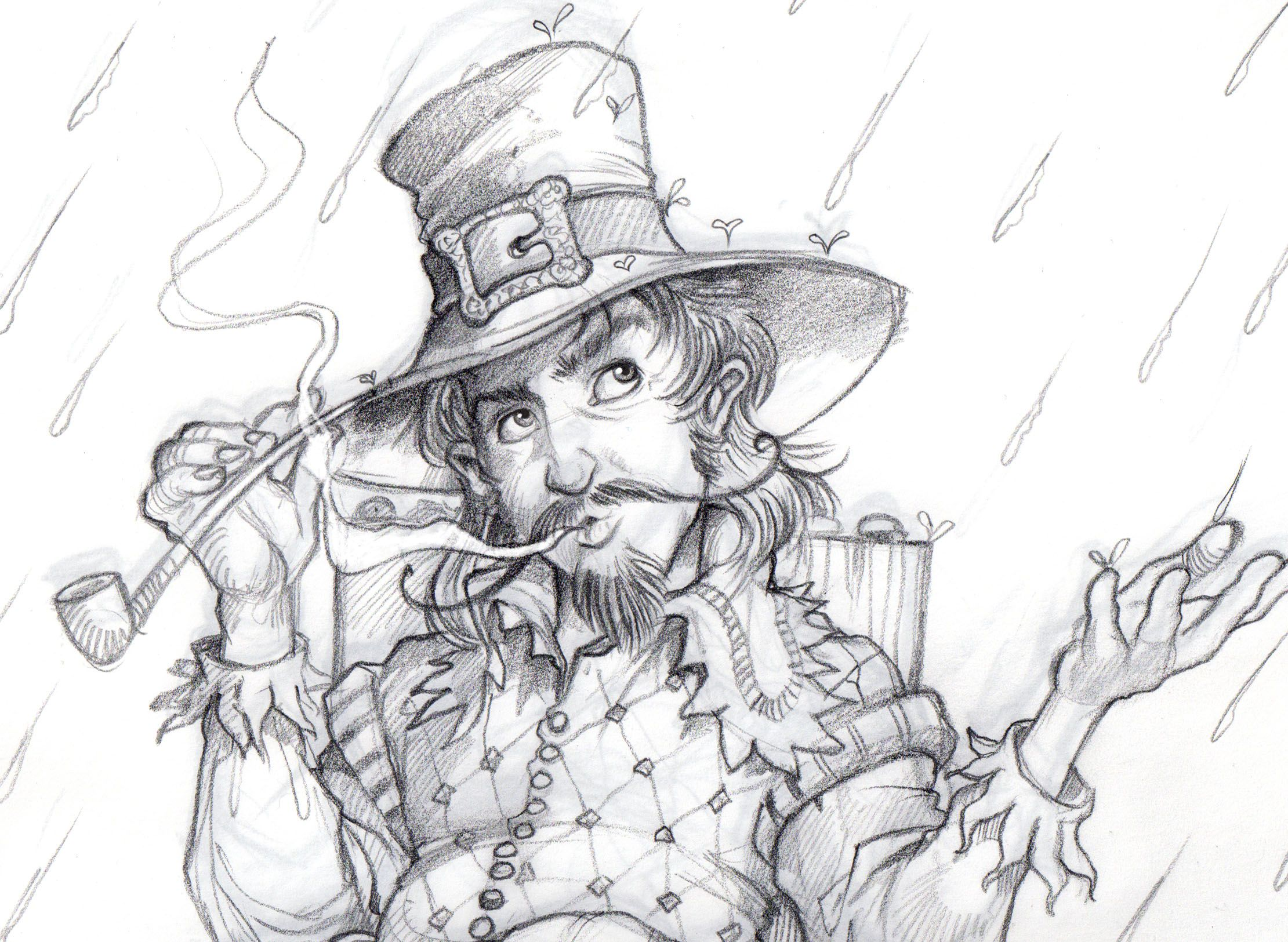 Closeup Guy Fawkes Rough Digital Fantasy Best
