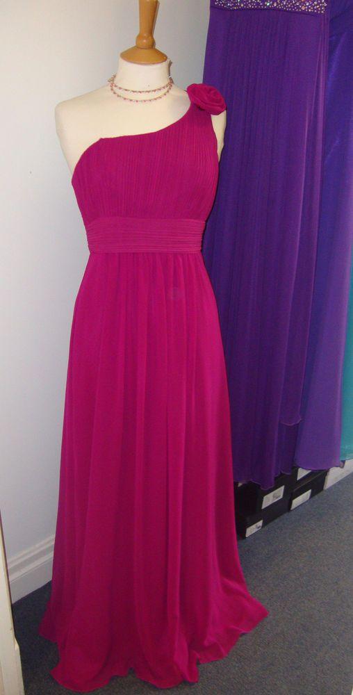 Magenta dress | Bridesmaid dresses | Pinterest