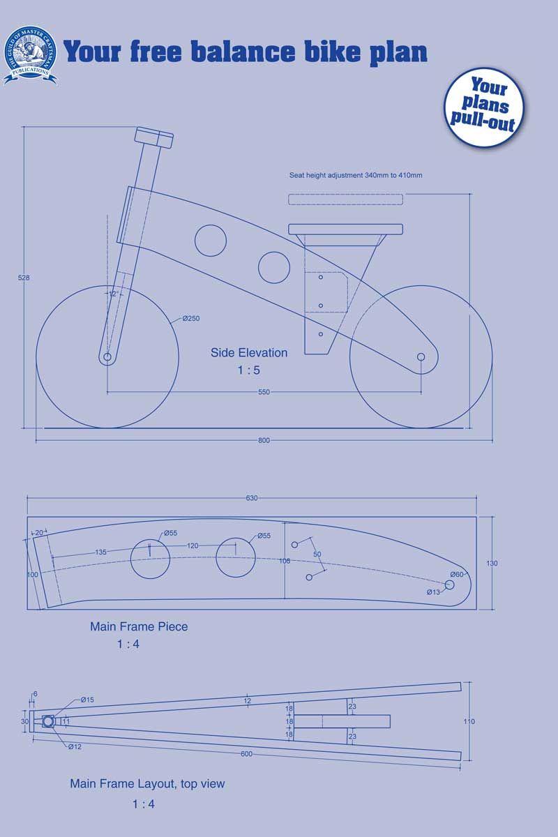 Equilibrio Bike El Instituto De La Madera Woodworking Crafts  # Muebles Equilibrio