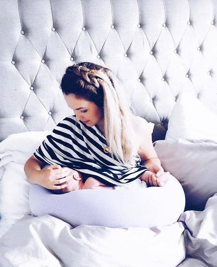bbhugme Pregnancy Pillow Dusty Pink