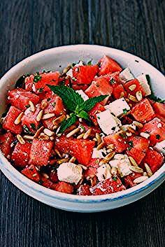 Photo of SOMMERSALAT: WASSERMELONE-FETA – Transglobal Pan Party