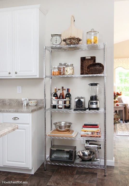 Kitchen Wire Storage Faucets Reviews The Renter Friendly Secret Weapon That Solved My Small Shelving Unit Woes Apartment Therapy