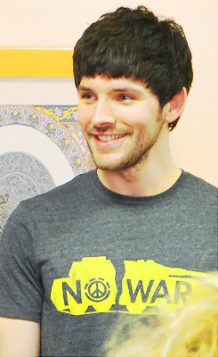 """""""The Shakespeare Globe Theater in London has announced its 2013 season, and Colin Morgan fans will be happy to learn that the young actor will be appearing in The Tempest, which opens April 23."""" Just bought my ticket!"""