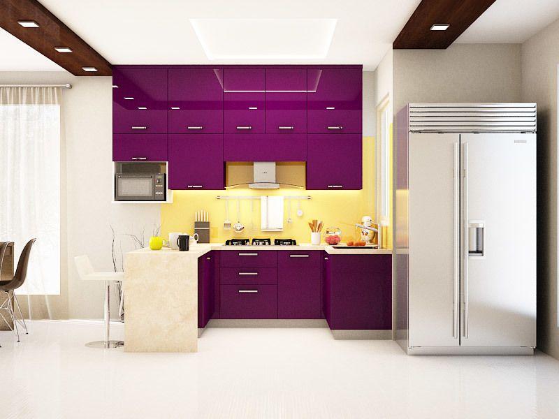 Image Result For U Shaped Modular Kitchen Photos India  Kitchen Amusing Modular Kitchen U Shaped Design Design Ideas