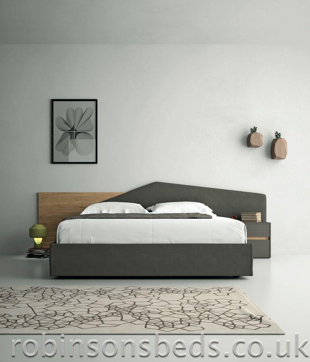 Dall'Agnese Minimal bed Italian designer futuristic beds