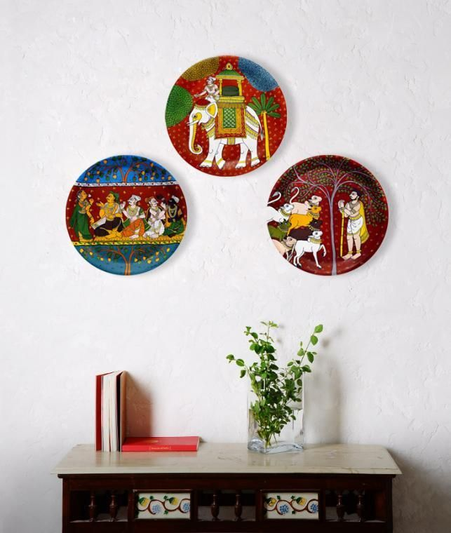 The Cheriyal Chronicles Art Cafe Decorative Wall Plates