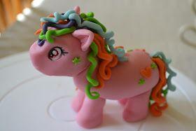 my little pony tårta steg för steg