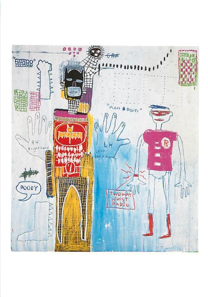 Piano Lesson for Chiara by Jean Michel Basquiat | Jean-Michel ...