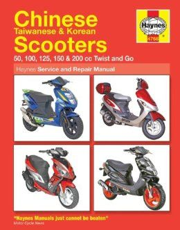 Chinese Scooters 50cc 200cc Repair Manual Chinese Scooters Repair Manuals Scooter 50cc