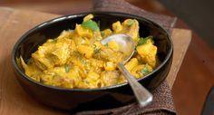 Porc au curry de Tante Bernadette, Découvrir la recette du porc au curry de Tante Bernadette