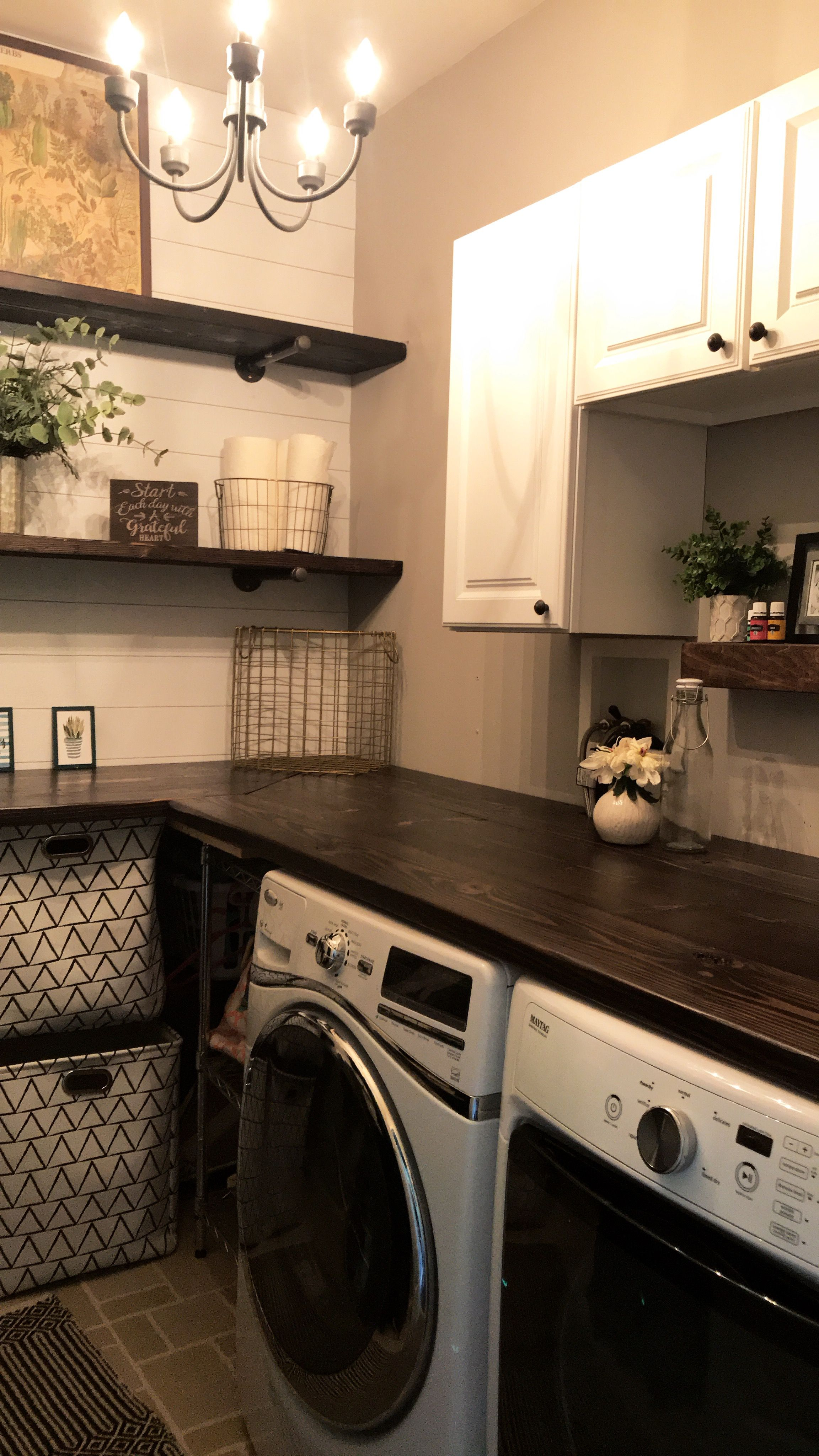 Laundryroom Makeover So Happy With The End Result Laundry Room
