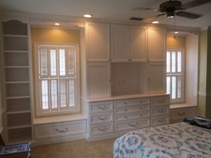 Charming Custom Bedroom Built In With Window Seat Storage 300×225 Pixels