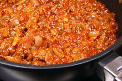 spaghettisaus maken met verse tomaten