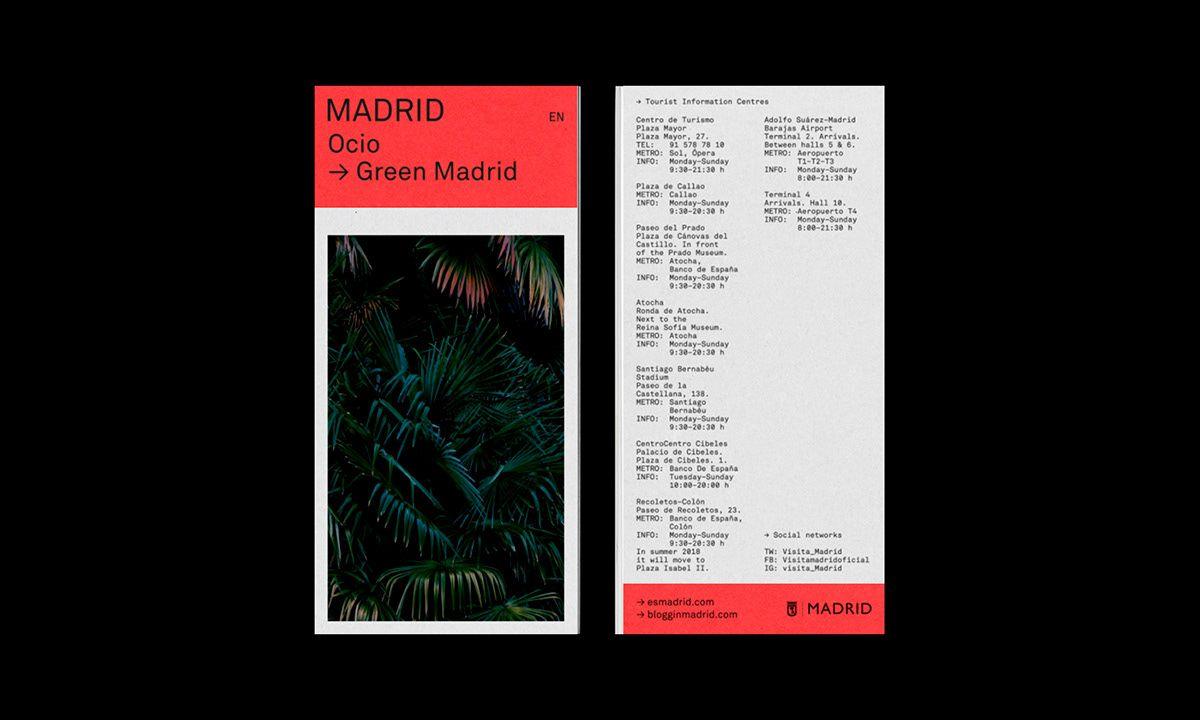 Madrid Tourism Image On Behance Graphic Design Tourism