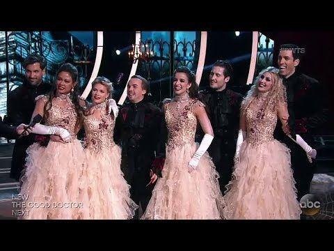 Team Phantom Of The Ballroom Dwts Season 25 Week 7 Halloween Night Youtube Dancing With The Stars Witney Dwts Dwts