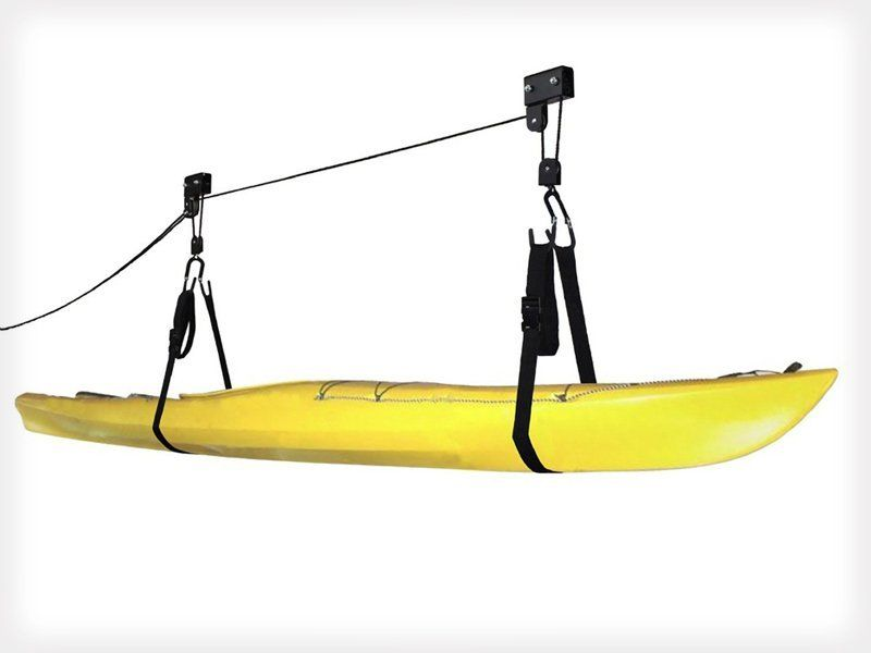 Overhead Storage System For Kayak Or Canoe Crazy Sales We Have The Best Daily Deals Online Kayak Storage Rack Kayak Storage Kayaking