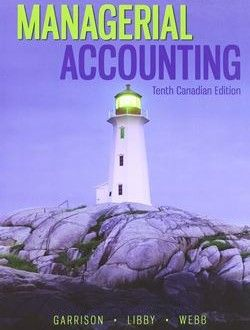 Managerial accounting tenth canadian edition free ebook online managerial accounting tenth canadian edition free ebook online fandeluxe Image collections