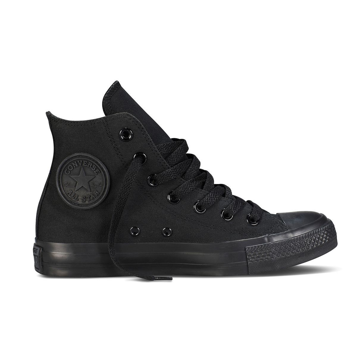 Baskets et Sneakers CONVERSE CTAS HI CANVAS FEMME Noir