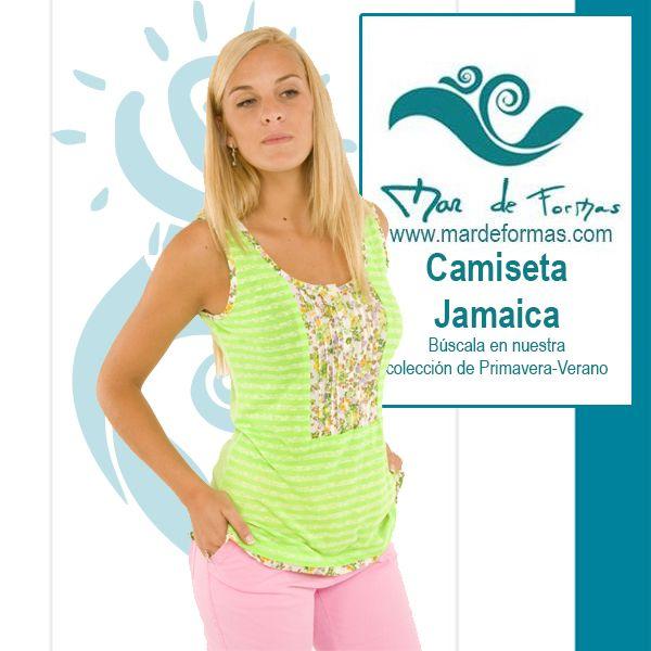 La Camiseta Jamaica: Búscala en nuestra colección de Primavera-Verano http://www.mardeformas.com/ca/20-camiseta-jamaica.html