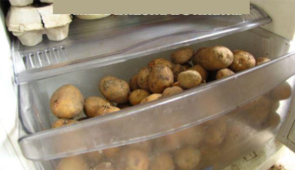 Ne mettez jamais vos pommes de terre au réfrigérateur pour cette raison!