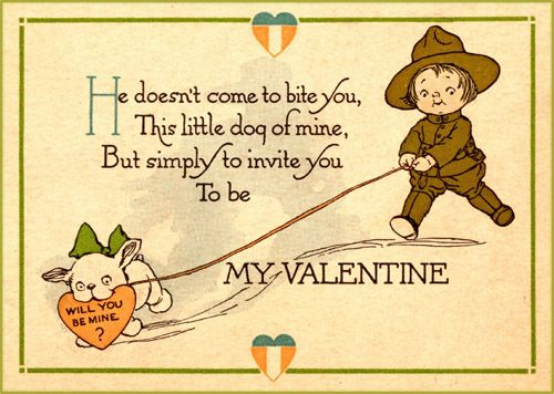 vintage graphics of children hugging – Free Printable Funny Valentine Cards