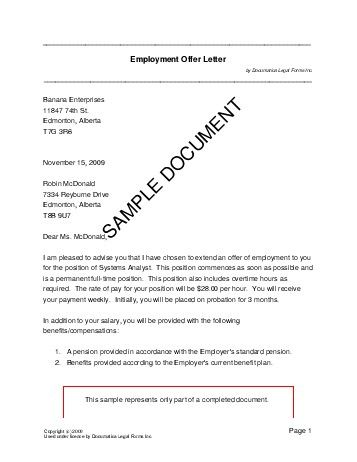 Sample Teacher Job Offer Letter - http\/\/wwwresumecareerinfo - generic bill of sale
