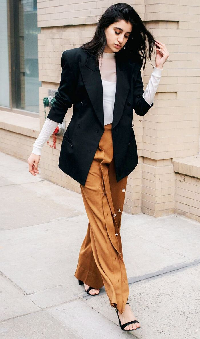 Find out how this fashion insider styles three of her favorite pairs of track pants. Once you see for yourself, you just might want to ditch your jeans.