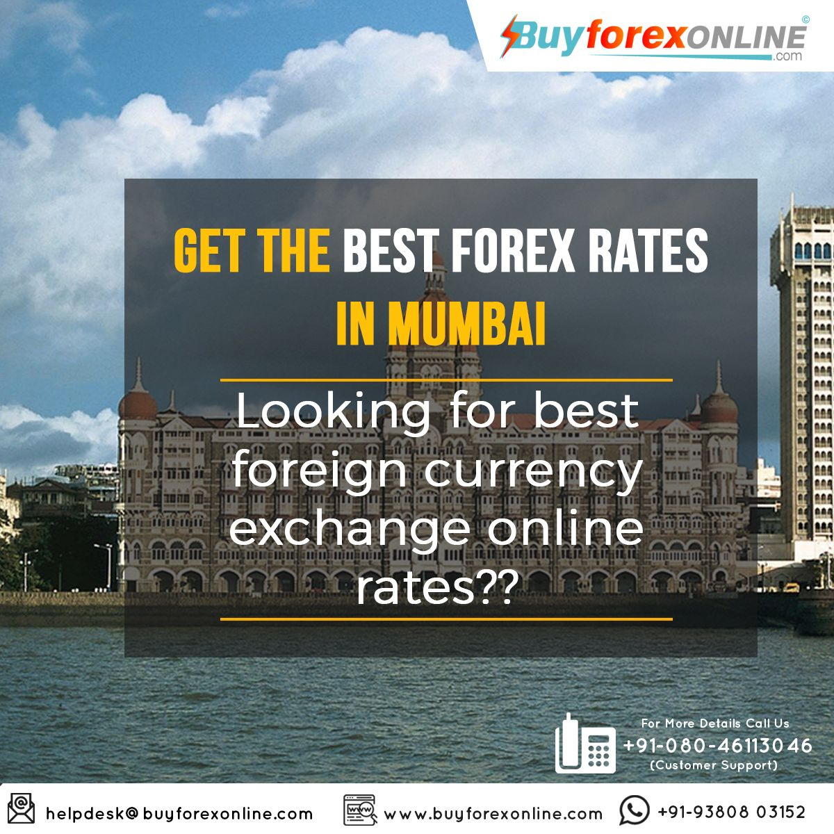 Cheapest forex rates in mumbai