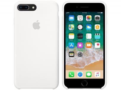 29856b58daf Capa Protetora Silicone para iPhone 7 Plus e - iPhone 8 Plus Apple MQGX2ZM A