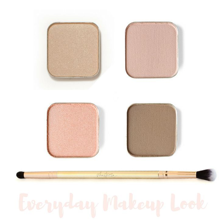 Photo of Everyday Natural Eyeshadow Look – Maskcara Beauty Girl