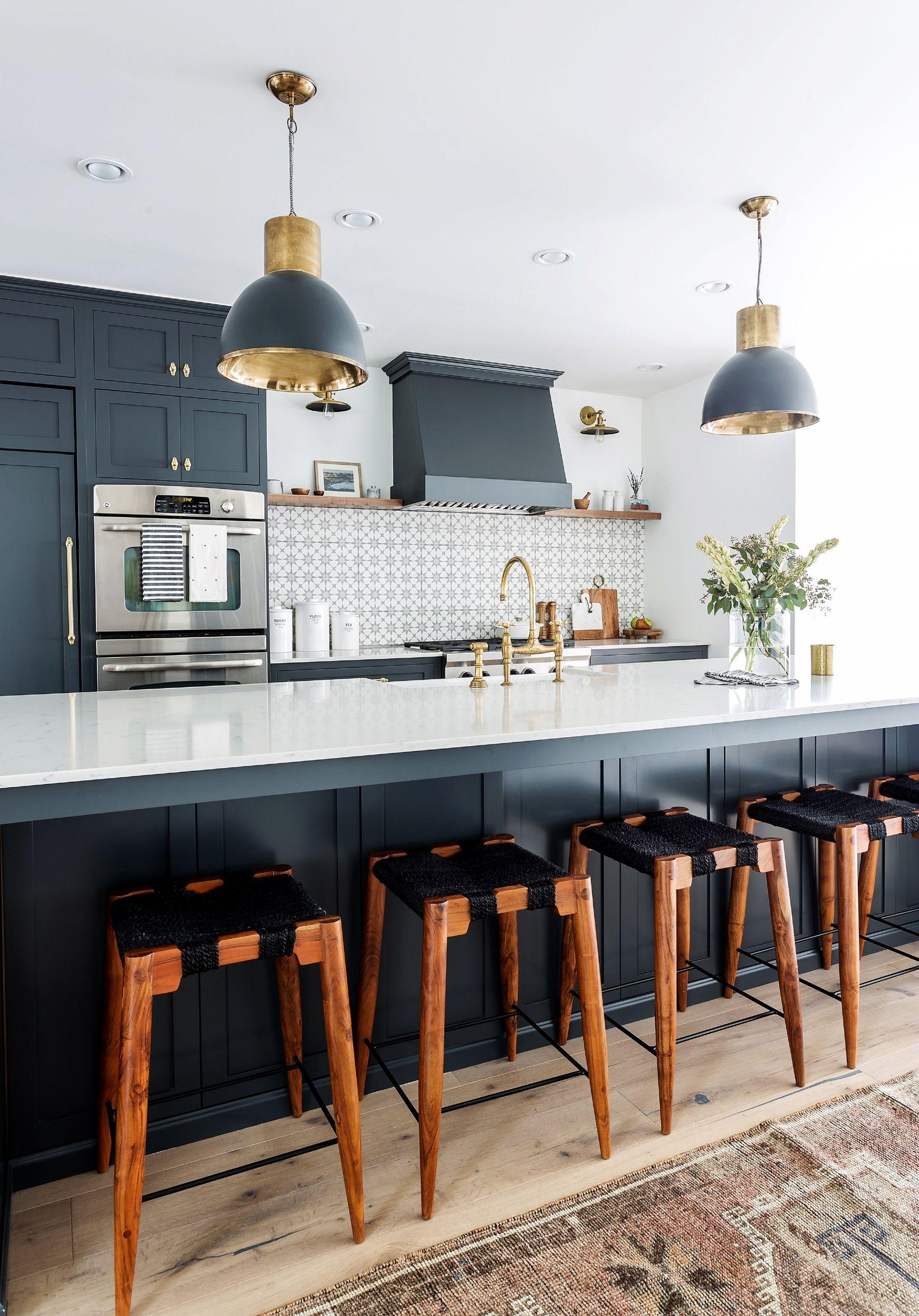 clementine interiors navy blue kitchen interiordesign interiorinspiration kitchendesign on kitchen decor navy id=50820