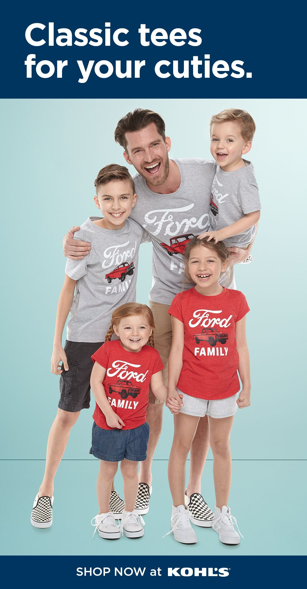 Family Fun Ford Graphic Tops Family shirts, Graphic