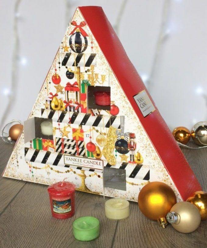 calendrier de l avent original adulte bougie yankee candle parfumée 24  surprises cadeaux fête de 68c995bd4e9