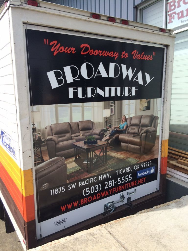 Broadway Furniture Delivers Locally In The Tigard Portland Area For Free Furniture Selling Furniture Tigard