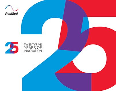 check out this behance project u201cresmed 25th anniversary logo rh pinterest com au 25th wedding anniversary logo 25th anniversary logo template