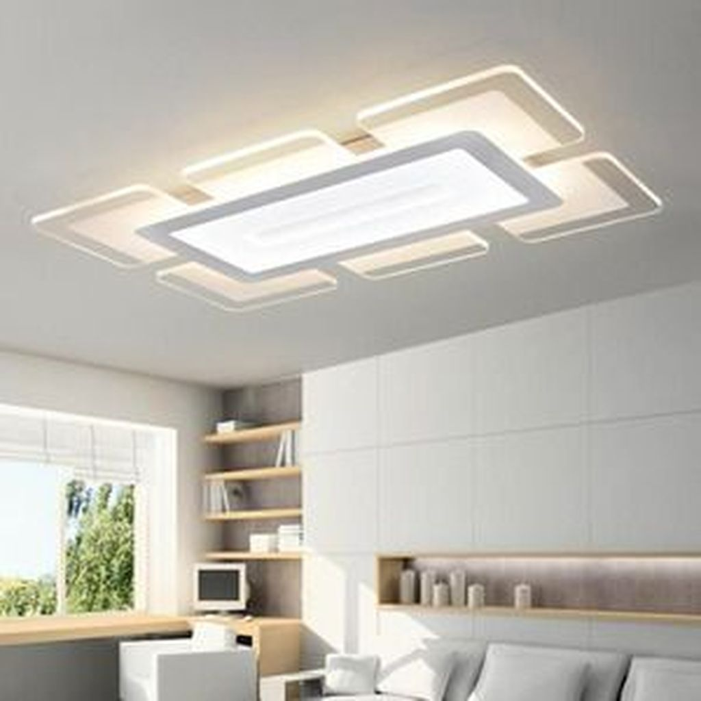 Top Remote Control Living Room Bed Room Modern Led Ceiling Lights Luminarias Para Sala Ceiling Lights Living Room False Ceiling Living Room Living Room Ceiling