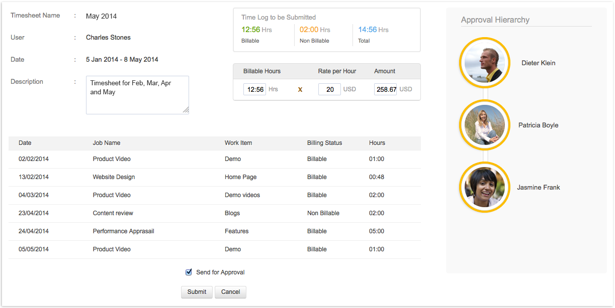 Approved! Effortless Timesheet Approvals with Zoho People