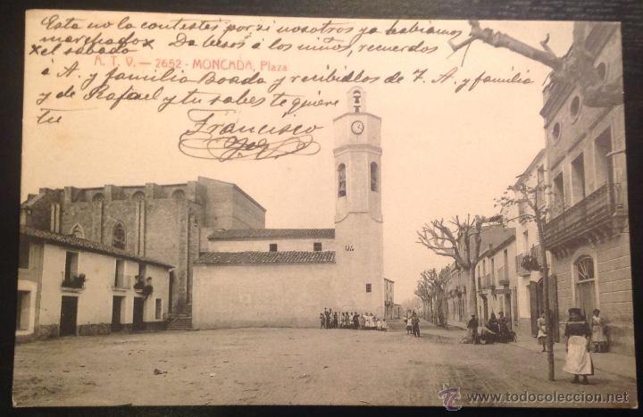 Atv 2652 Moncada Plaza Todo Terreno Postales Antiguas Fotos