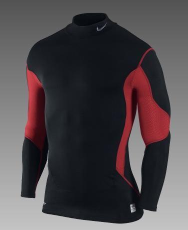 e3825da92534 Nike Pro Combat Compression Speed Hyperwarm Mock-Neck Men s Training Shirt