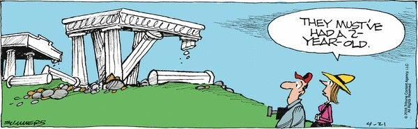 Bound & Gagged comic strip