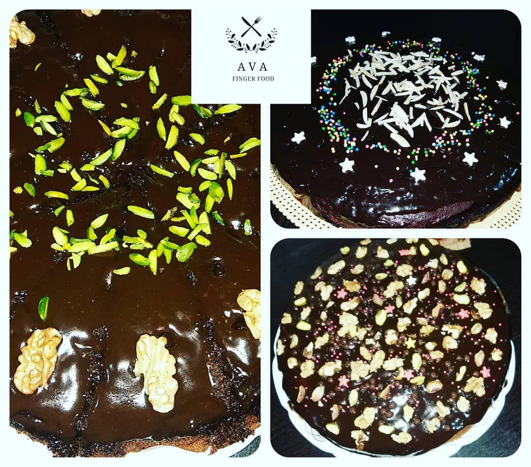 سفارش انواع کیک خیس با گاناش مطابق با سلیقه شما 40 تومن اینستا فود Fingerfood ماکارانی دسر اشپزی خاص دلنشین Finger Ava مخصوص مر Food Desserts Breakfast