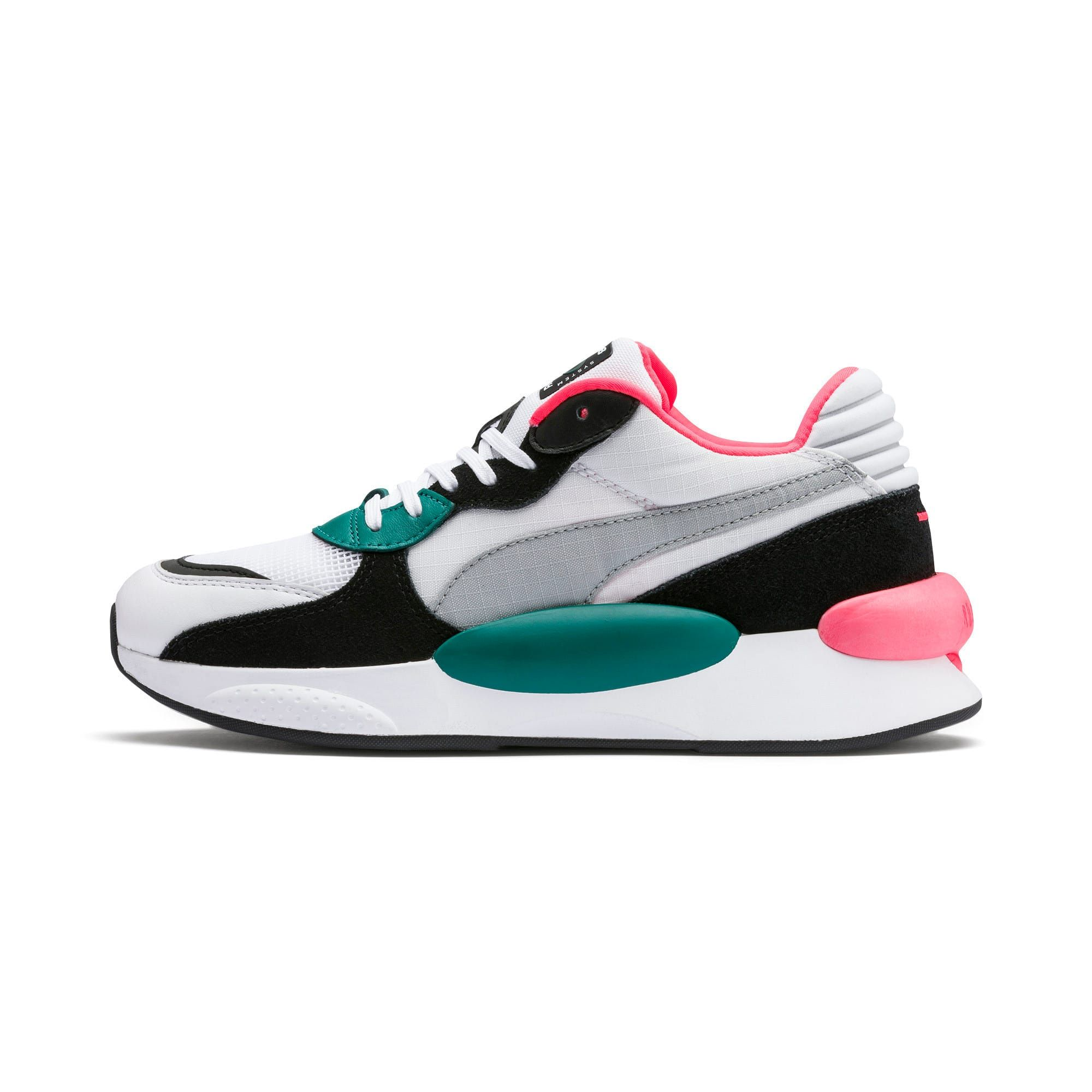 PUMA RS 9.8 Space Trainers in White/Teal Green size 10.5 ...