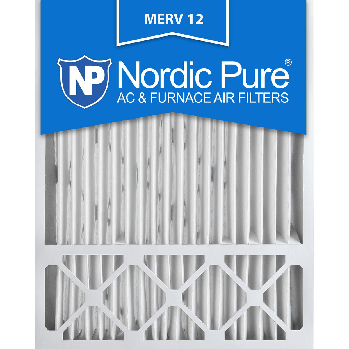 Buy Cheap Nordic Pure MERV 12 Pleated Furnace Filter