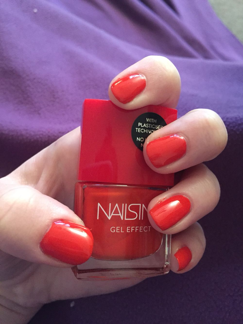 Nails inc gel nail colors and gel nail polish on pinterest - Nails Inc West End Gel Effect Polish