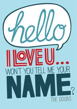 The Doors - Hello I Love You - 1968 Album u003d Waiting for the Sun Song Lyrics  sc 1 st  Pinterest & The Doors - Hello I Love You - 1968 Album u003d Waiting for the Sun ...