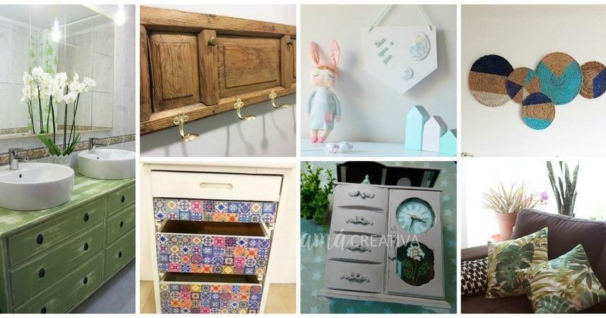 M s de 10 ideas diy para decorar tu hogar hazlo t mismo for Decoraciones para tu hogar