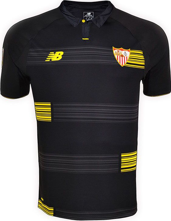 New Balance Sevilla 15 16 Kits Released Shirts Champions League Soccer Kits