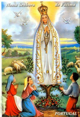 Novena A Nuestra Senora De Fatima Imaculada Conceicao Fotos De