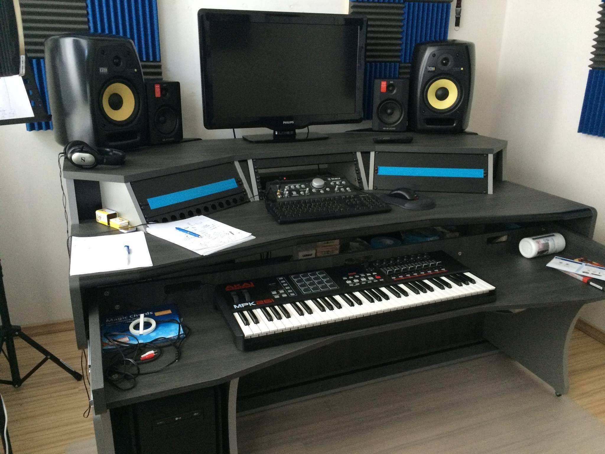 MIZA X at the studio of We Funk Dj Duo from Hamburg