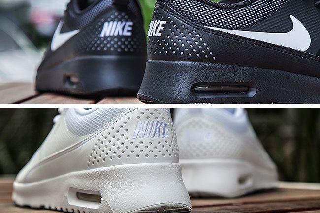 nike air max thea schwarz weiß foot locker